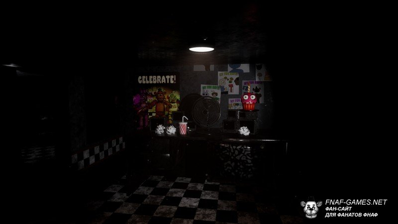 Пародия Five Nights at Freddy's 1 Remake полная версия