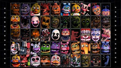 ФНаФ 7 Ultimate Custom Night