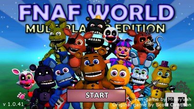 FNaF World Multiplayer Edition