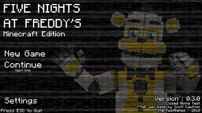 Five Nights at Freddy's: Minecraft Edition