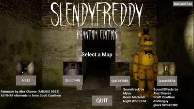SlendyFreddy Phantom Edition