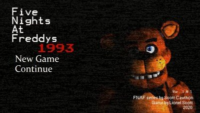 Five Nights at Freddys: 1993