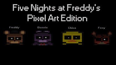 Five Nights at Freddy's Pixel Art Edition